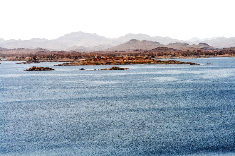 Nassersee - Enstanden durch den Assuan-Staudamm