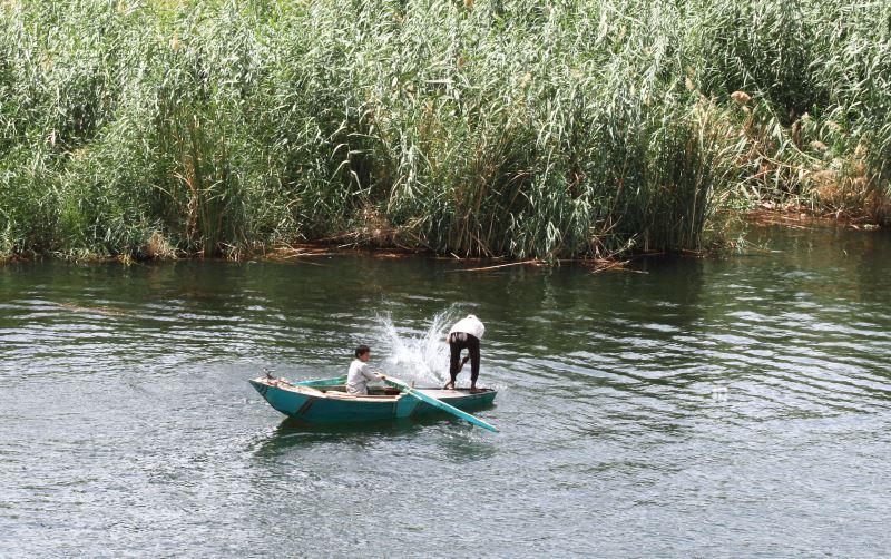 Das Angeln ist sehr beliebt auf Nil und dem Nassersee
