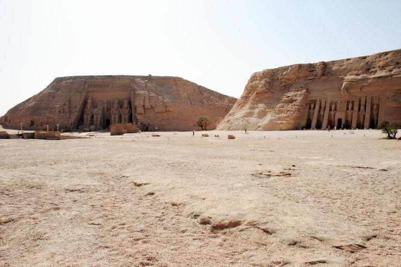 Die berühmten Tempel in Abu Simbel